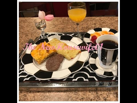 QUICK & EASY FATHERS DAY BREAKFAST & TRAY IDEA
