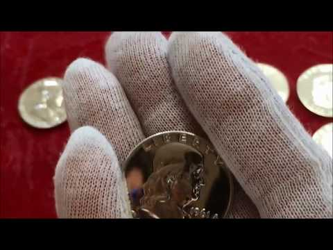 RARE VARIETY FOUND! LIVE OPENING OF VALUABLE  BEN FRANKLIN HALF DOLLARS! RARE HALF DOLLARS COINS!