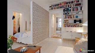 55 идей зонирования однокомнатной квартиры - как разграничить пространство