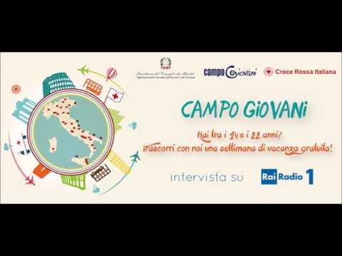 CampoGiovani 2016 -  La Radio ne parla - Rai Radio1
