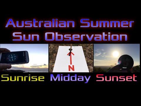 Flat Earth debunked by Australian Sun Observation thumbnail