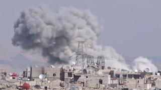 أخبار عربية - تصعيد عسكري يستهدف الغوطة الشرقية في ثاني أيام الهدنة