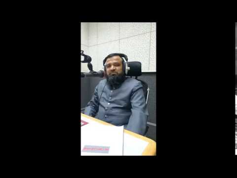 Nadeem Mahir Interview on Radio Qatar Urdu Service with RJ Arshad Hussain 25 july 2015