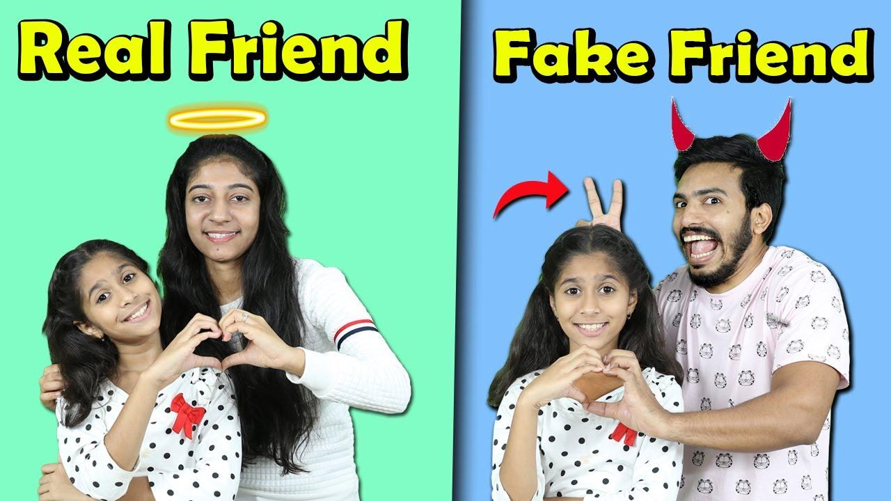 Real Friend Vs Fake Friend | Funny Video | Pari's Lifestyle