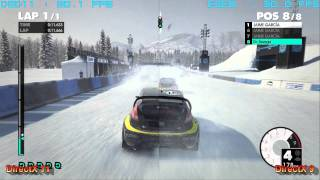 DiRT3 - DirectX 9 vs DirectX 11 ULTRA Split-Screen gameplay [Full HD]