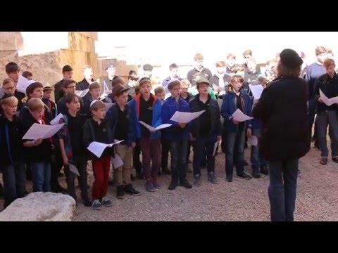 """Thomanerchor Leipzig in Yad Vashem - Felix Mendelssohn Bartholdy: """"Richte mich Gott"""""""