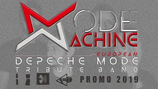 VIDEO PROMO 2019 - Mode Machine Depeche Mode Tribute Band from Italy