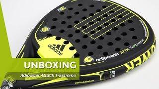 El hotel Camarada He reconocido  Unboxing pala de padel Adidas Adipower Attack Xtreme - YouTube