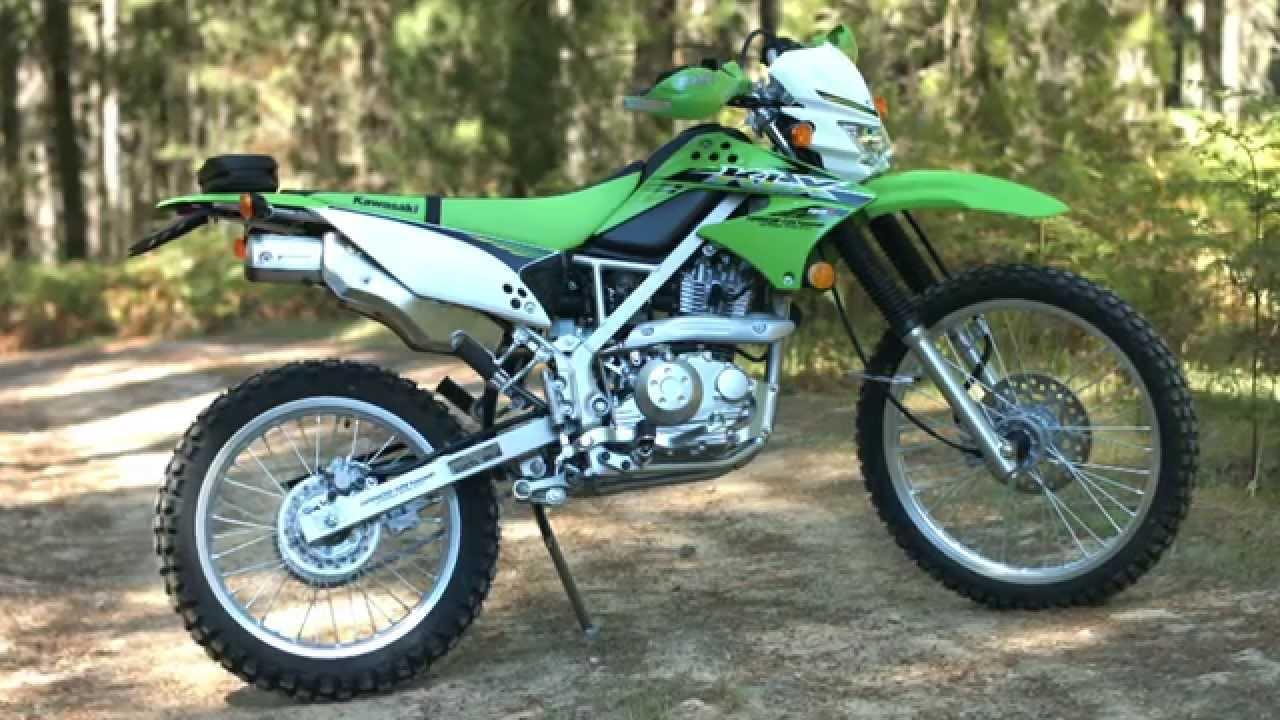 MXTV Bike Review - 2015 Kawasaki KLX150L - YouTube