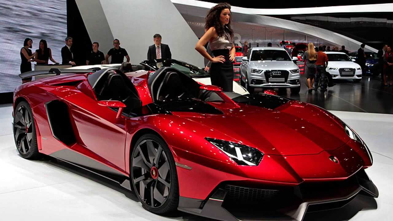 2015 Lamborghini Aventador J