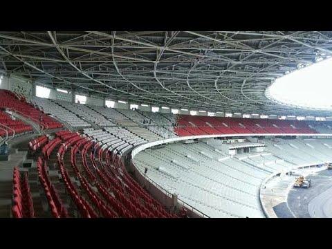 MERINDING!!! LAGU INDONESIA RAYA DI PUTAR DI STADION GELORA BUNG KARNO (must watch)