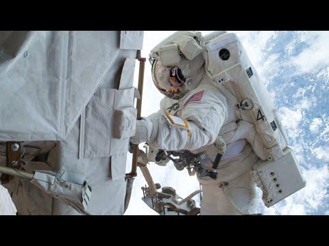 Spacewalk by NASA Astronauts to Install Space Station Science Platform