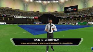 Rain Interrupt in Real Cricket™ 18 - DUBAI STADIUM