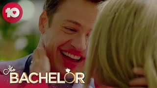 Helena covers Matt in lipstick | The Bachelor Australia