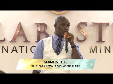 THE NARROW AND WIDE GATE BY PROPHET DR. KOFI ODURO(FULL MESSAGE)