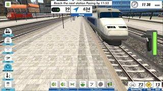 Euro Train Simulator 2 - Android GamePlay & Game Video FHD | Euro Train Sim 2