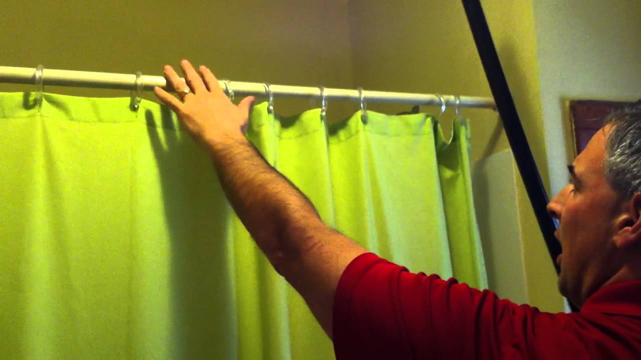 Shower Rod Cover Makeover   YouTube
