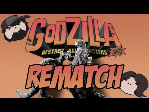 Godzilla Destroy All Monsters Melee: Rematch - Game Grumps VS
