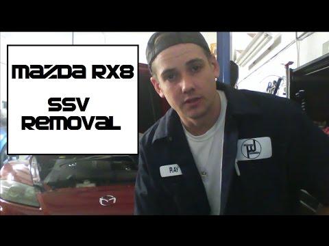 Mazda RX8 How to Remove the SSV