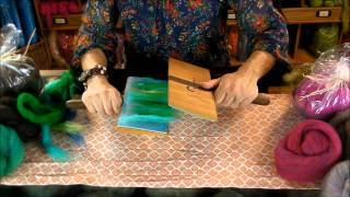 Hand Carding Techniques: How to Use the Hand Carders by Sarafina Fiber Art