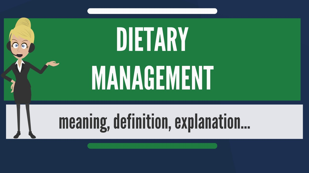 What is dietary management what does dietary management mean what does dietary management mean dietary management meaning xflitez Gallery