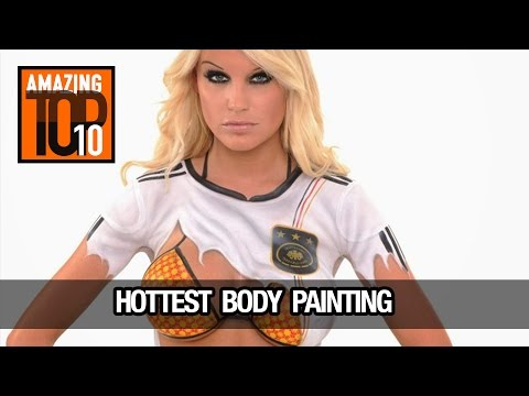 Amazing top 10 | Hottest Body Painting