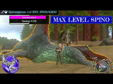 MAX LEVEL SPINO TAMING!!! | [S1E14] | ARK Survival Evolved Mobile