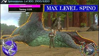 MAX LEVEL SPINO TAMING!!! | [S1E14] | ARK Survival Evolved Mobile