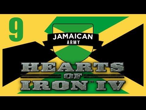 Hearts of Iron IV - Modern Day Jamaica #9