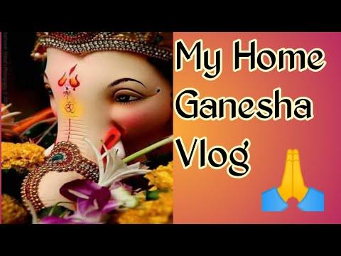 my-home-ganesha-|-ganesh-chaturthi-|vlog