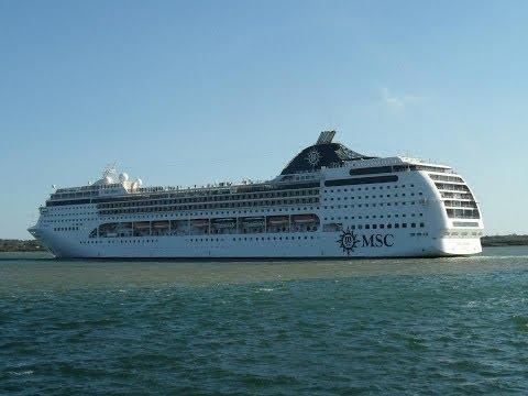 """Ventura"", ""Oceana"", ""MSC Opera"", ""Silver Whisper"" & Container Ships in Southampton - 13/05/2012"