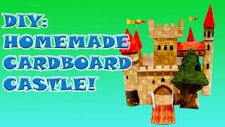 DIY: HOW To MAKE A COOL Homemade Toy Castle Craft Activity!