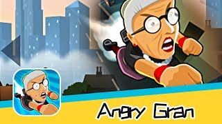 Angry Gran-Toss Walkthrough - Awesome!