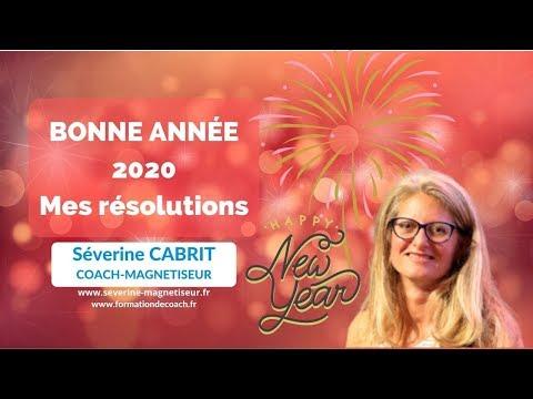 Bonne année 2020 mes résolutions