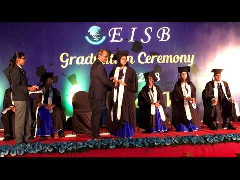 EISB High School Graduation Day 2018 for A Level Students.