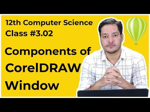 Class #3.02   12th CS   DTP(Advanced)   Components of CorelDRAW Window