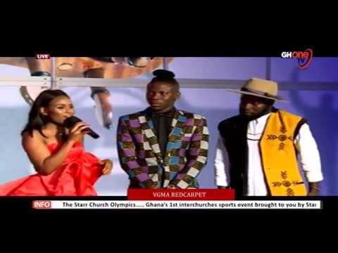 Manifest and Stonebowy on the Red carpet with Berla Mundi