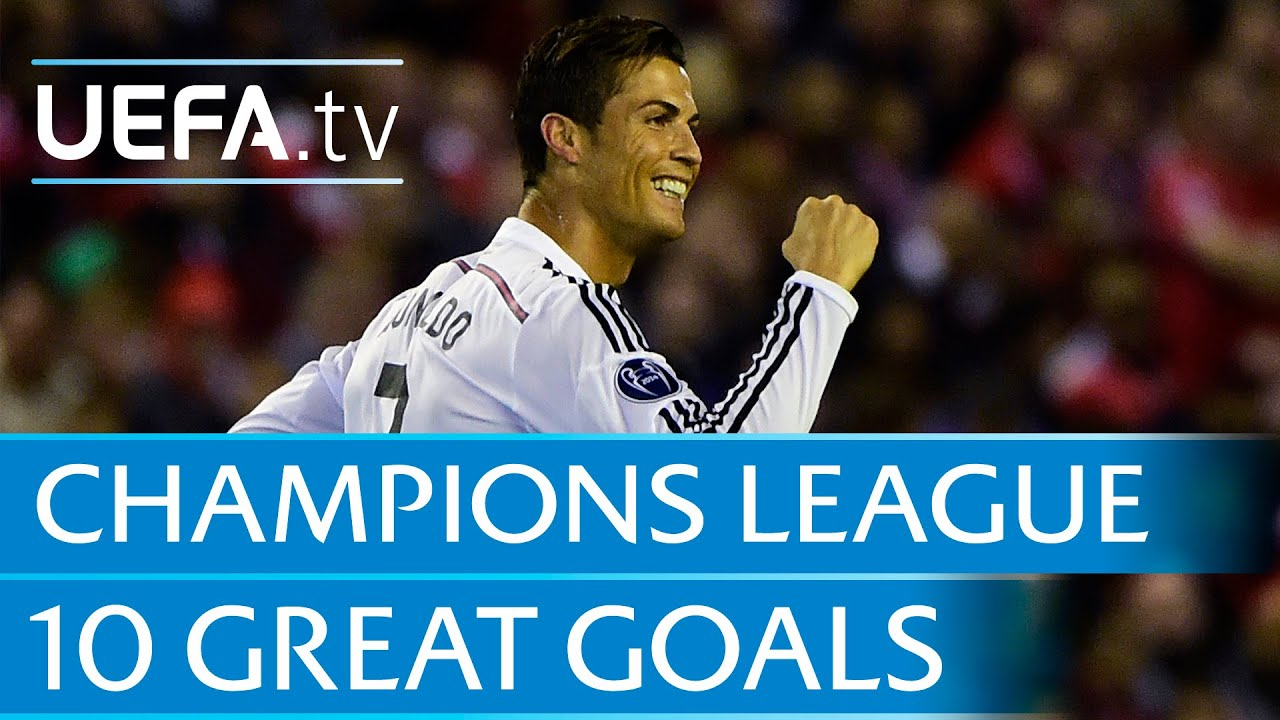Download 10 great goals from the 2014/15 UEFA Champions League