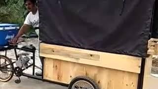 Gerobak Seoeda Mesin 150x50x200cm