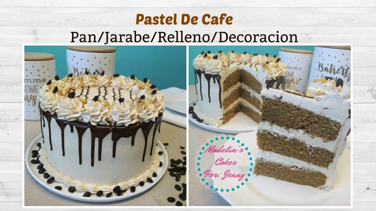 Pastel De Cafe Receta Casera Paso a Paso Suave y Cremoso.