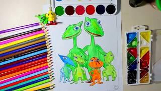 Dinosaur Train MUDDY : coloring book