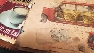 Старая книга ваз