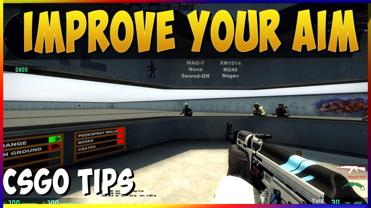 How to Improve Your Aim - CS:GO Tips & Trix