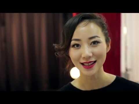 Cecilia Han (Han Xue) and Kris Xu - BTS fashion video