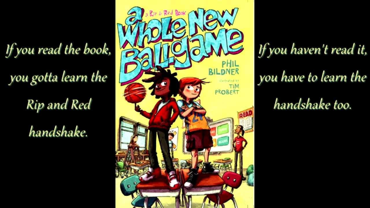 Book Trailer A Whole New Ballgame Youtube