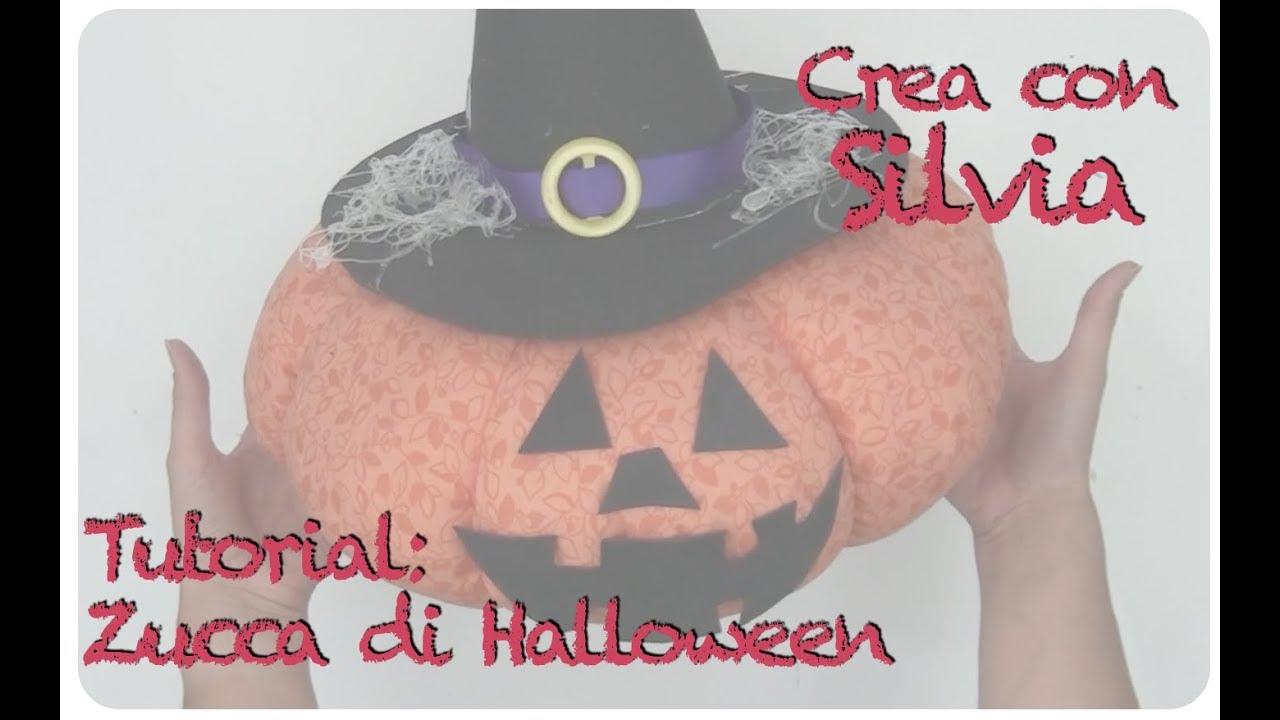 Zucca Halloween Cartapesta.Tutorial Zucca Di Halloween