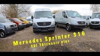 купить хороший авто в германии 2019. Mercedes Sprinter 316 cdi 7G tronic plus