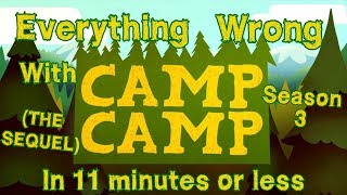 Everything Wrong with Camp Camp - SEASON 3 - In 11 Minutes or Less