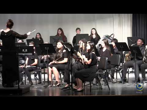 North Garner Middle School MPA Band performs Autumn Mist on 3/19/2019