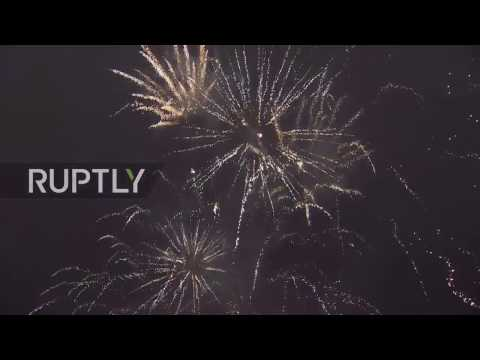 LIVE: Moscow kicks off 2017 with New Year's celebrations